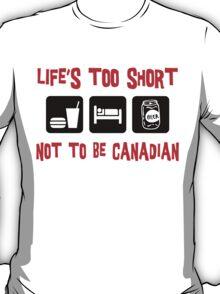 Funny  Canadian T-Shirt T-Shirt
