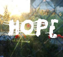 urban hope with wasteground wild poppies by sixsixninenine