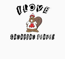 "Funny Canadian ""I Love Canadian Beaver"" T-Shirt Unisex T-Shirt"