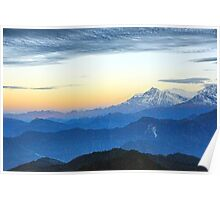 Himalayan Sunrise Poster