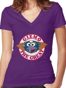 Gizmo the Great Women's Fitted V-Neck T-Shirt