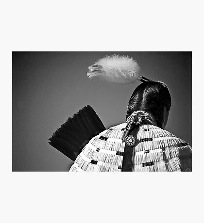 Back Feather Photographic Print