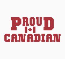 Proud Canadian T-Shirt T-Shirt