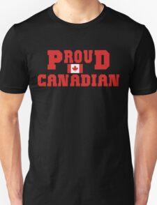 Proud Canadian T-Shirt Unisex T-Shirt
