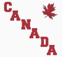 Canada Maple Leaf T-Shirt Kids Clothes