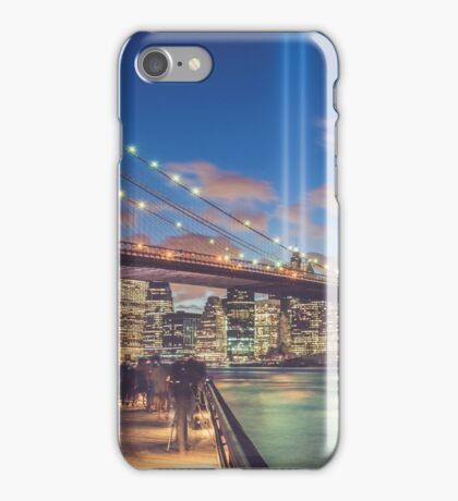 Trubute in Lights iPhone Case/Skin