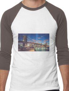 Trubute in Lights Men's Baseball ¾ T-Shirt