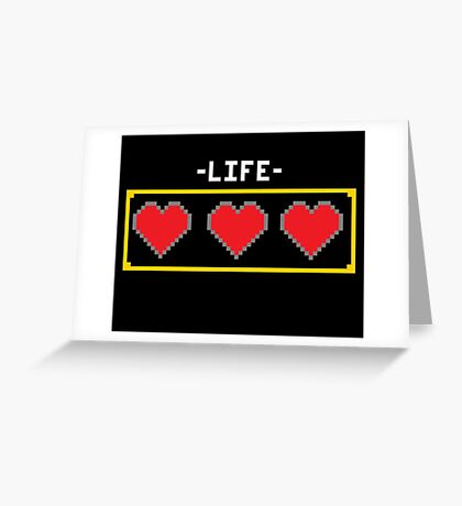 LIFE HEARTS Greeting Card