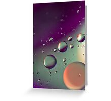Purple Bubble Mix - Also iPhone Case Greeting Card