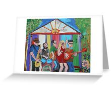 Rae Gordon Band Greeting Card
