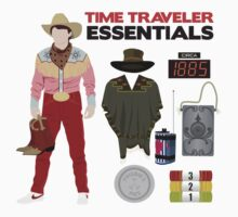 Back to the Future : Time Traveler Essentials 1885 by amandaweedmark