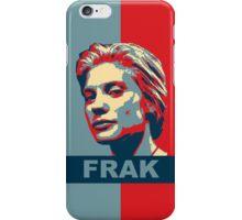Starbuck: Frak (Battlestar Galactica) iPhone Case/Skin