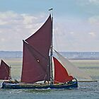 Thames Barge Majorie by DonMc
