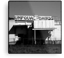 Umpqua Dairy Metal Print