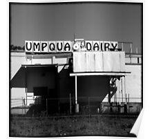 Umpqua Dairy Poster