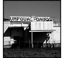 Umpqua Dairy Photographic Print