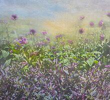 Purple Fantasy by Marilyn Cornwell