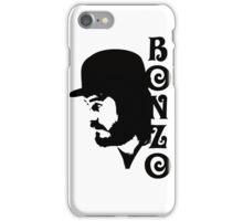 SOLID BLACK BONZO iPhone Case/Skin