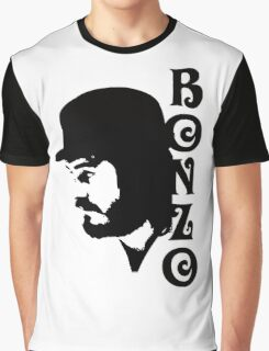 SOLID BLACK BONZO Graphic T-Shirt