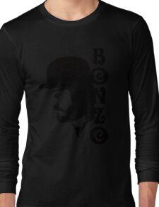 SOLID BLACK BONZO Long Sleeve T-Shirt