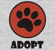 Adopt (Paw Print) Kids Clothes