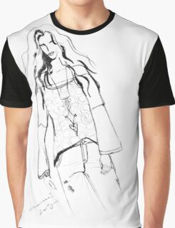 Modelling by Genevieve Chausse Graphic T-Shirt