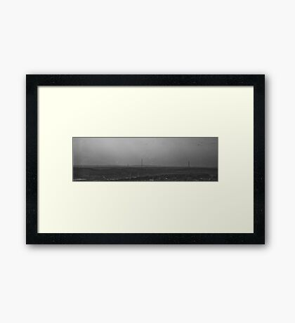 Yesterday Was Grey And Dull Framed Print