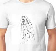 Modelling by Genevieve Chausse Unisex T-Shirt