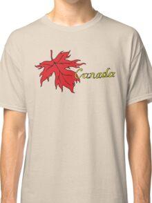 Canada Maple Leaf T-Shirt Classic T-Shirt