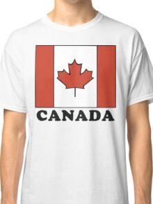 Canada Flag T-Shirt Canadian Flag T-Shirt Classic T-Shirt
