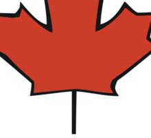 Canada Flag T-Shirt Canadian Flag T-Shirt Sticker
