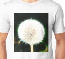Fractal Dandelion  Unisex T-Shirt