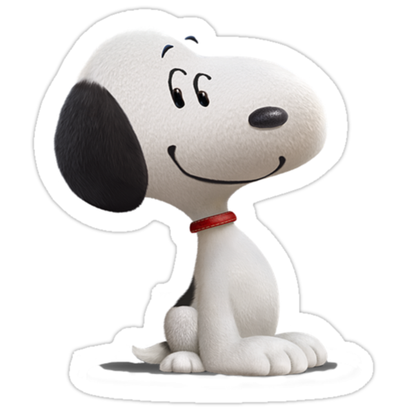 quot snoopy sticker peanuts movie quot stickers by teamrocketchu