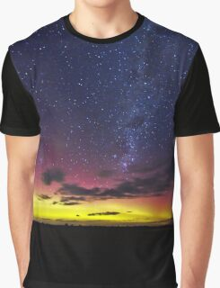 Aurora Australis the Southern lights Graphic T-Shirt
