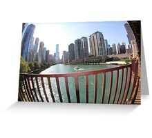 Chicago beauty Greeting Card