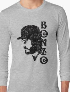 DISTRESSED BLACK BONZO Long Sleeve T-Shirt