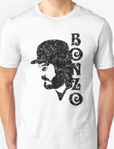 DISTRESSED BLACK BONZO Unisex T-Shirt