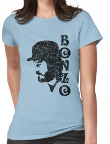 DISTRESSED BLACK BONZO Womens Fitted T-Shirt