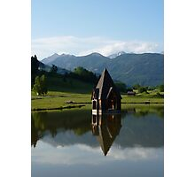 """Church Spire""  Ranten, Austria Photographic Print"