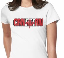 Canadian T-Shirt Womens Fitted T-Shirt