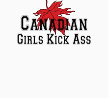 Canada Canadian Girls Kick Ass Women's T-Shirt Womens Fitted T-Shirt