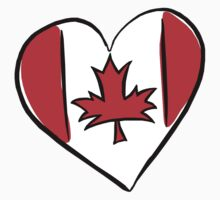 Love Canada T-Shirt by HolidayT-Shirts