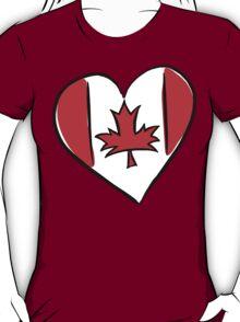 Love Canada T-Shirt T-Shirt