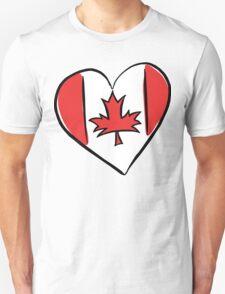 Love Canada T-Shirt Unisex T-Shirt