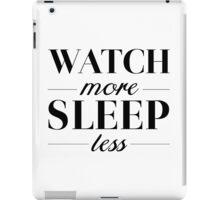 Watch/Sleep iPad Case/Skin