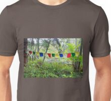 Prayer Flags for Peace, Unity, Solidarity for All People Unisex T-Shirt