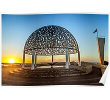 HMAS Sydney Memorial Sunset Poster
