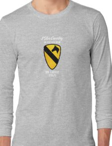 1st air cavalry division, vietnam 1969... (white) Long Sleeve T-Shirt