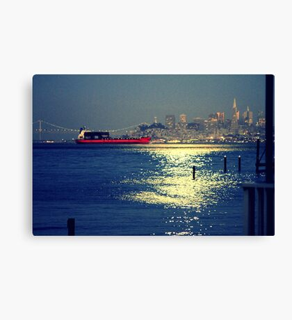 San Francisco Nights... Canvas Print