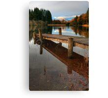 Loch Ard Jetty Canvas Print